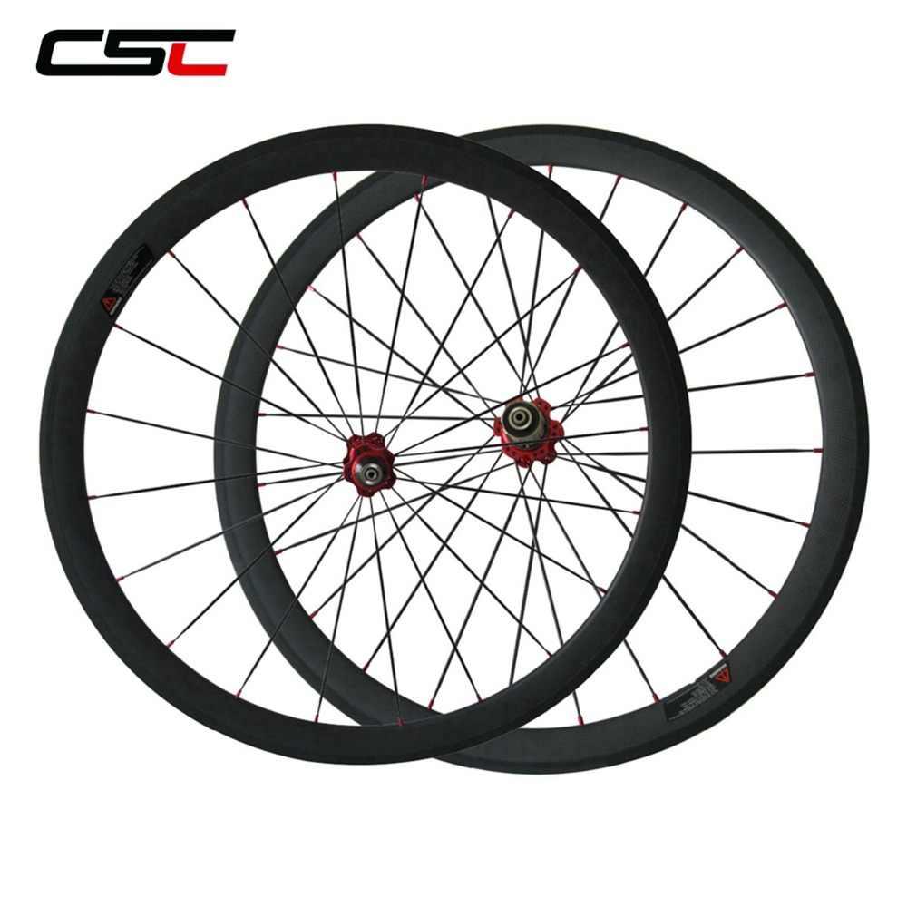 ZLYY 700C Roues Carbon Logo personnalis/é 38mm 50 mm 60mm 88mm Carbone V/élo Route Roues Clincher Carbon Wheelset