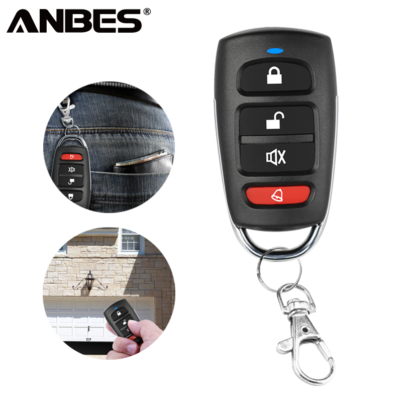 ANBES 433 92 MHz wireless Copy Remote Control Garage Door Remote Control  universal Remote Key Clone 1527 PT2264 HT600