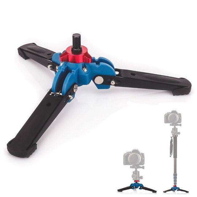 "Manbily M-1 Hydraulic Universal Three Feet Support Stand Base Monopod Stand for Monopod Ballhead with 3/8"" screw"