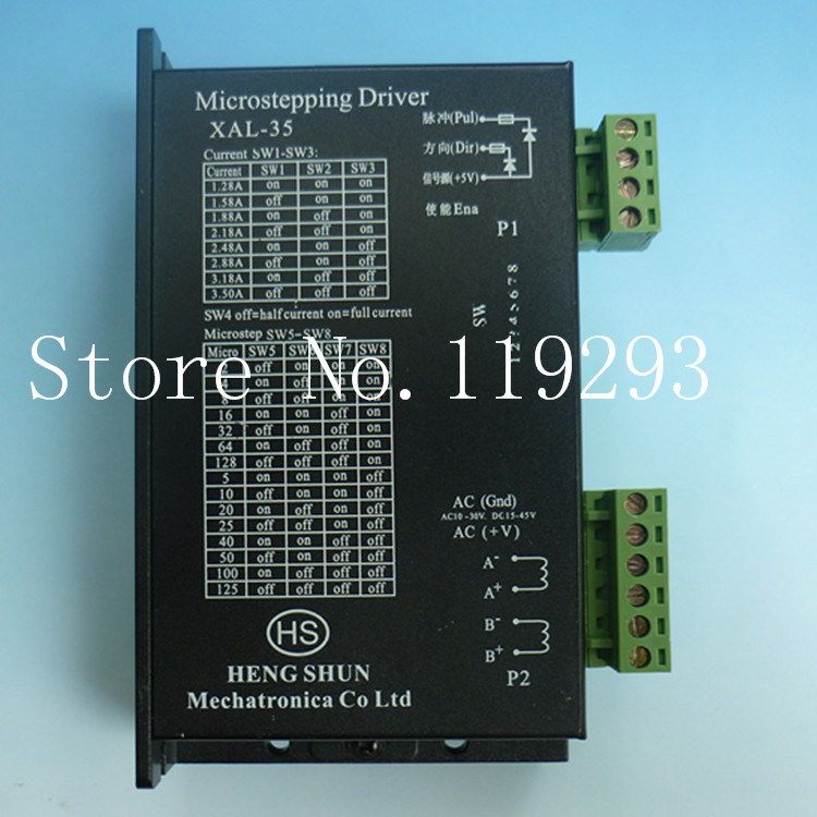 [JOY] XAL-35 Baishan stepper motor driver 5786 Professional stepper motor drive 128 125 aliquots  --2PCS/LOT [joy] hakusan original stepper motor drive 4257 series drive maximum 64 aliquots voltage 15v 40 2pcs lot
