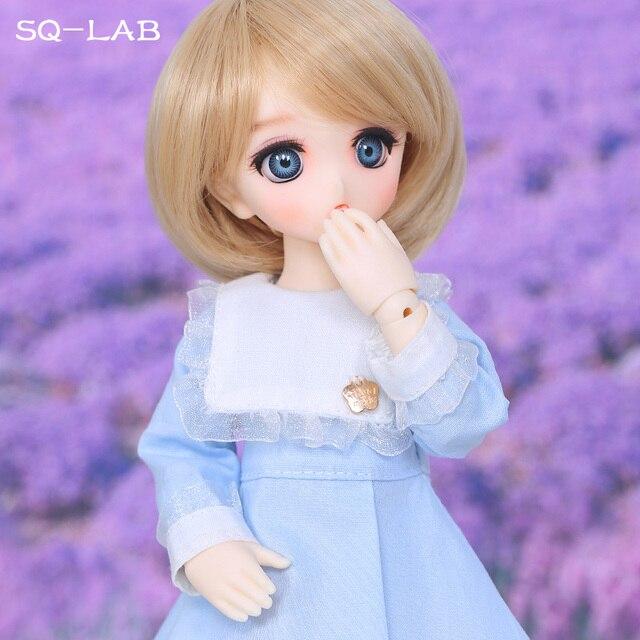 SQ Lab_ Ren Chibi 26cm 1/6 BJD SD Resin Model Hot Baby Girls Boys Dolls High Quality Gift Toys Shop Fullset OUENEIFS 4