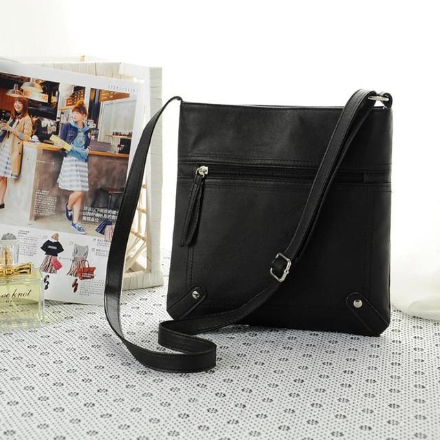 Naivety 2016 New Fashion Womens PU Leather Satchel Cross Body Shoulder Bag Handbag JUN7U drop shipping
