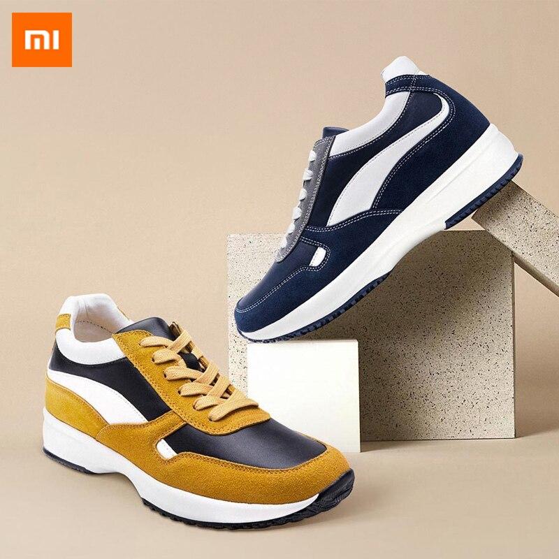 2 Farbe Original Xiaomi Sport Schuhe Uleemark Erhöhung Schuhe Atmungsaktive Erfrischende Netz Komfortabel Und Stabil Für Mann Hohe QualitäT Und Preiswert