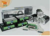 ( German Ship& No Tax to EU Customer) Nema 23 Wantai Stepper Motor 425oz in,3.0A,4Axis CNC 3D Reprap Printer 57BYGH115 003B
