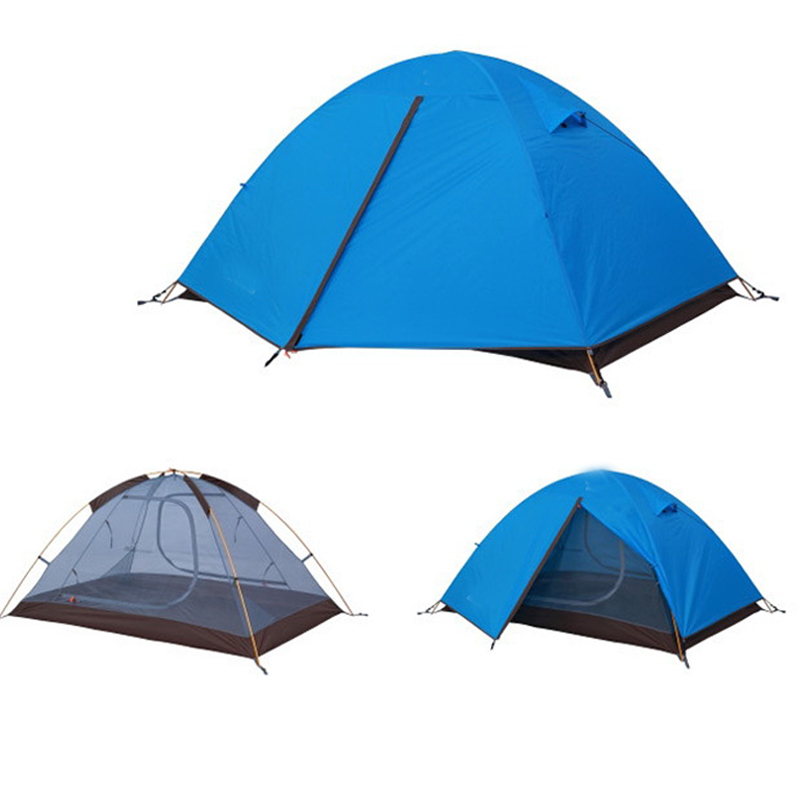 2 persons outdoor camping beach waterproof 3 season double layer outdoor camping hike travel play tent high quality outdoor 2 person camping tent double layer aluminum rod ultralight tent with snow skirt oneroad windsnow 2 plus