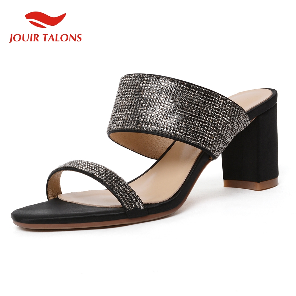 fashion hot peep toe top quality bling luxury shoes woman pumps mules chunky heels outdoor pumps woman shoes mulesfashion hot peep toe top quality bling luxury shoes woman pumps mules chunky heels outdoor pumps woman shoes mules