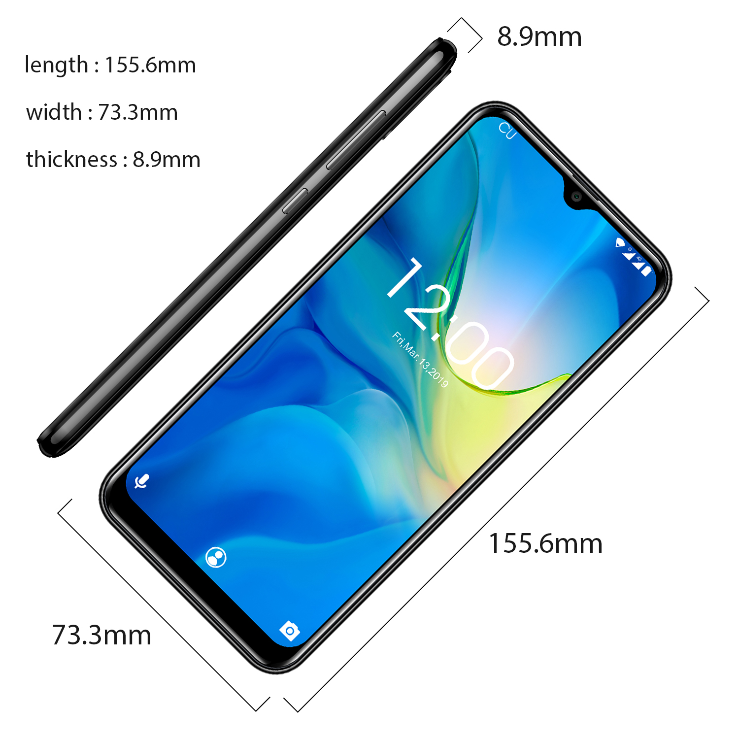 Image 4 - OUKITEL C15 Pro+ 6.088 4G Smartphone 3GB 32GB MT6761 Water Drop Screen 2.4G/5G WiFi Mobile Phone C15 Pro + Fingerprint Face ID-in Cellphones from Cellphones & Telecommunications