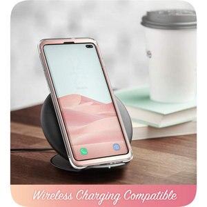 Image 5 - Pour Samsung Galaxy S10 Plus étui 6.4 pouces i blason Cosmo coque en marbre à paillettes sans protection décran intégrée