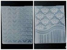 ZhuoAng Various patterns Embossing Folder for Scrapbook DIY Album Card Tool Plastic Template