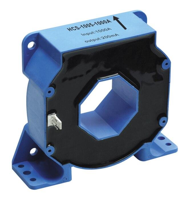 Capteur de courant Hall HCS-1005-1000A mesure AC, DC, impulsion, toutes sortes de courant irrégulier, capteur de HCS-1005 de mode courant de sortie
