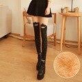 HOT 9 Padrão de Inverno Calças Legging Quentes Engrossado Super Elastic Leggings Gato Coelho Pinguim Bonito Da Menina Das Mulheres de Veludo Calças Skinny