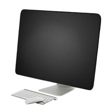 New! 21 inch 27 inch Black Polyester Computer Monitor Dust Cover Protector with Inner Soft Lining for Apple iMac LCD Screen(China)