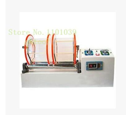 Livraison gratuite orfèvrerie machines-outils 11 kg capacité gobelet rotatif 2 barils or Machine à polir ghtool