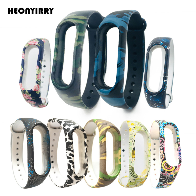 Silicone Wristband for Xiaomi Mi band 2 Strap Colorful Strap Wristband Replacement For Xiaomi Miband 2 Smart Band Accessories
