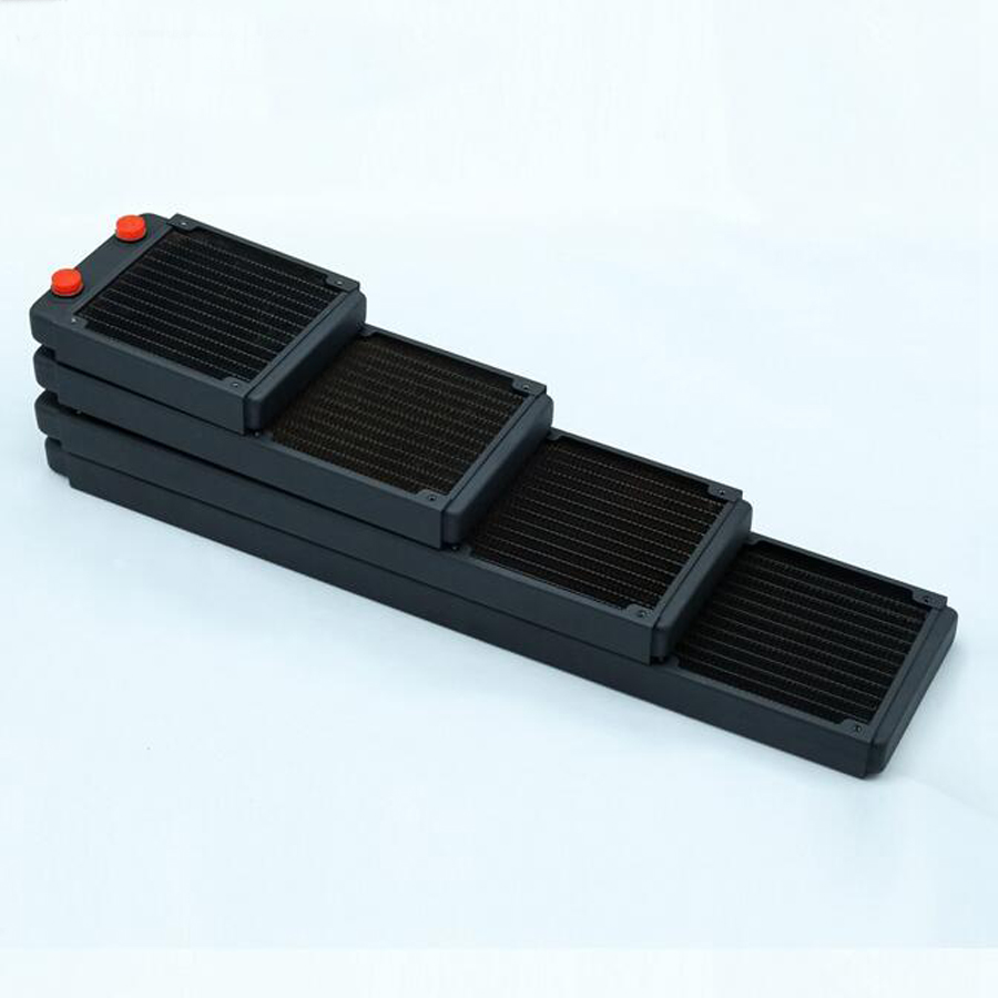 120 240 360 480 water cooled copper radiator exhaust heat exchanger cool water cooling high quality