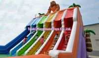 high quality commercial giant used bouncer jump jumping pool kids inflatable water slide