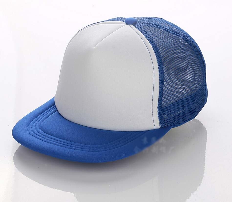 Bulk Hats 20pcs/Lot Cheap Mens Foam Flatbill Snap Back Cap Summer Two Tone Mesh Snapback Hat for ...