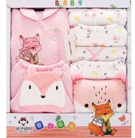 NEW Newborn Baby Clothes Soft Cotton Toddler Baby Boy Girl Clothes Set Infant Clothing New Born Gift Sets BJ092003