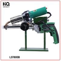 220V Hot Melt Plastic Welding Machine LST600B (with anti hood) Welding Extrusion Hot Air Gun Handwheel Extruder for Tank, Tube