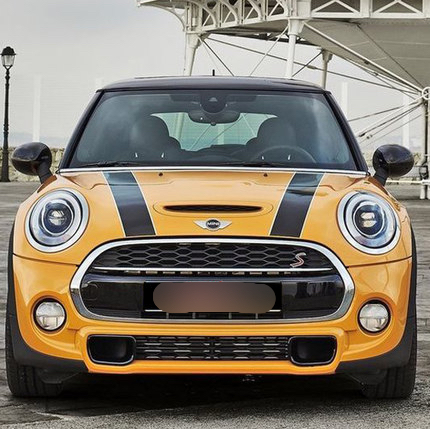 2014-2015 mini cooper F55 F56 special sticker Engine for mini car stickers(Color can be customized) прикольные футболки