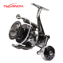 TSURINOYA BROWN BEAR 4000 5000 6000 7000 Spinning Reel 9+1BB 5.2:1/4.9:1 Gear Ratio Saltwater Fishing Reel Carretilha De Pesca