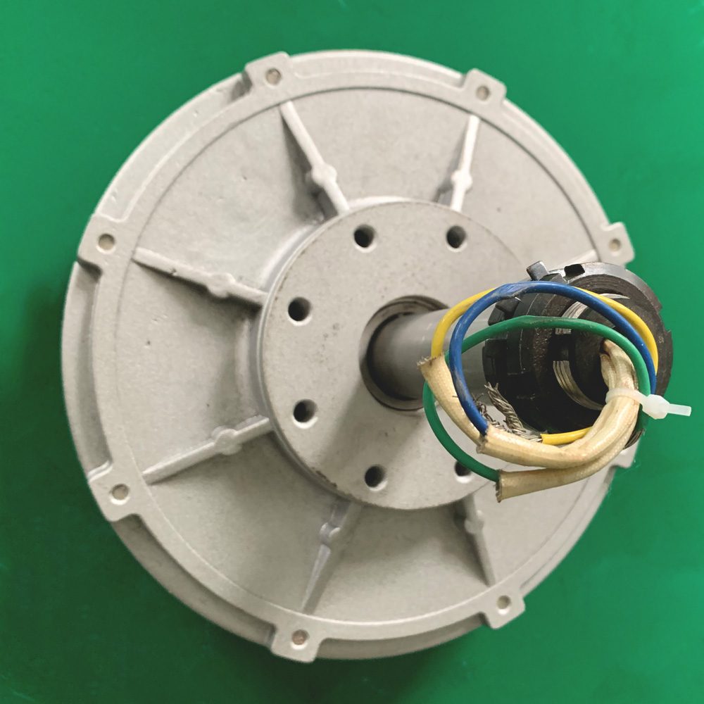 500W 150 200 350RPM 24V 48V 94V DC low Speed low Start Up for DIY Permanent Magnet Coreless Generator alternator 33046300791