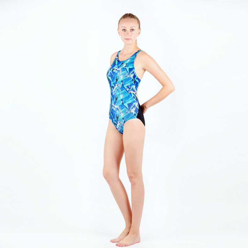 High Quality Sports Swimsuits Women Printed Training Racing Competition Swimwear One Piece Surfing Backless Quick Bathing Suit racing competition swimsuits women one piece quick dry bathing clothing high quality girl s print slim swimwear plus size s 5xl