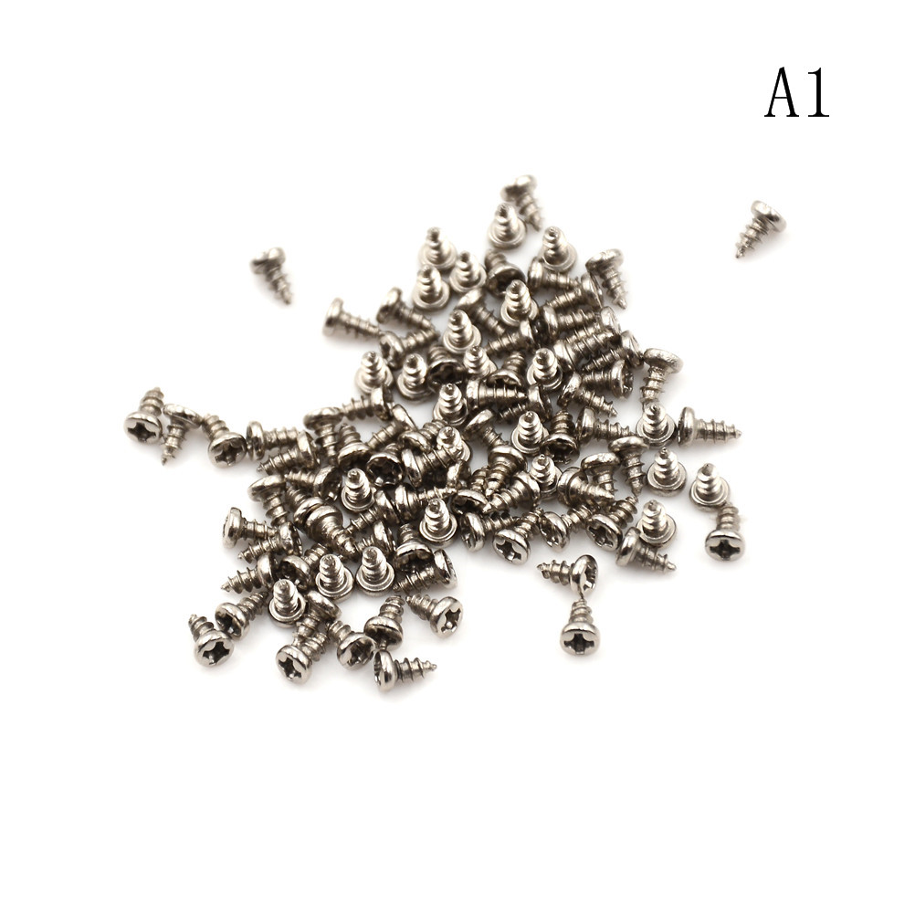 Radient 2x6/8/10mm Screws Nuts M2 Flat Round Head Fit Hinges Countersunk Self-tapping Screws Wood Hardware Tool Home Improvement