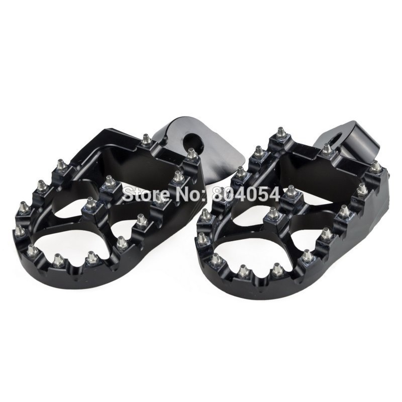 NICECNC Foot Pegs Footrests For Gas Gas EC 97-15 Yamaha YZ 85 125 250 125X 250X 250F 250FX 450F 450FX WR250F WR450F 97-2019 WR