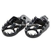 NICECNC Foot Pegs Footrests For Gas Gas EC 97 15 Yamaha YZ 85 125 250 125X 250X 250F 250FX 450F 450FX WR250F WR450F 97 2019 WR