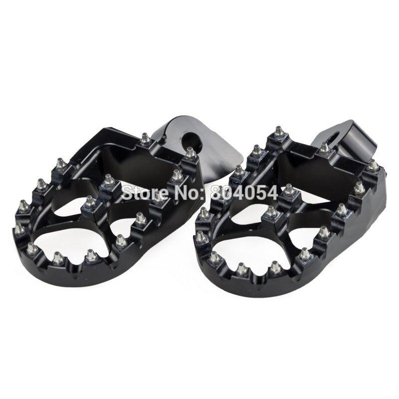 NICECNC Foot Pegs Footrests For Gas Gas EC 97-15 Yamaha YZ 85 125 250 150X 250X 250F 250FX 450F 450FX WR250F WR450F 97-2018 WR