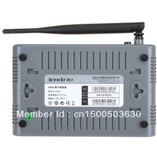 Tenda w150d router how to factory reset.