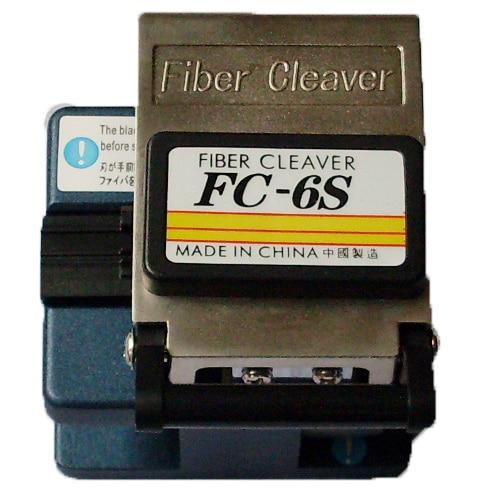 Coupeur optique de Kit d'outil d'épissure de FTTH de FC-6S de couperet de câble de Fiber pour la fibre monomode de coupe de précision, livraison gratuite