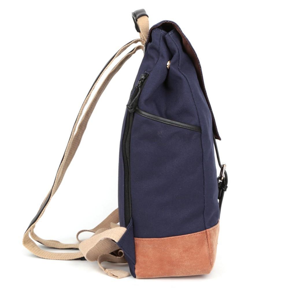 School bag herschel - Aliexpress Com Buy Ecocity Women And Men S Canvas Backpack Student School Bags For Teenagers Girls Mochilas Back To School Herschel Rucksack Bp0090 From