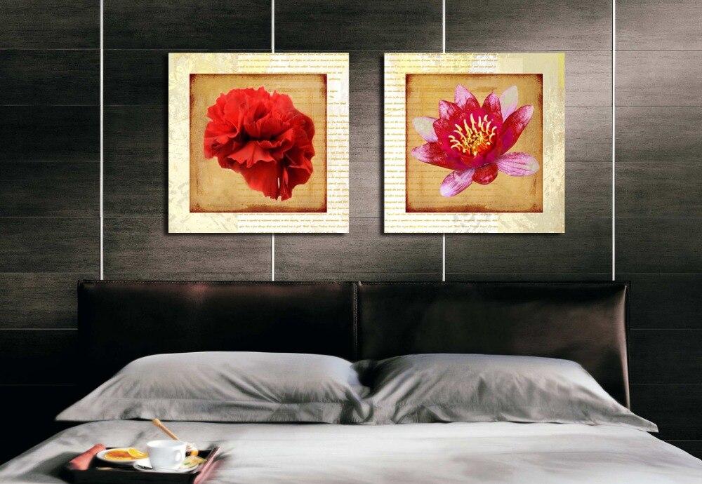 Rode Woonkamer: get cheap rode gevlokt wallpaper aliexpress ...
