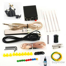 High Quality Whole Set Professional Coils Guns Machine Kits with Power Supply Ink Disposable Needles for Beginner