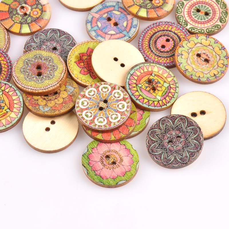 25 x Pink Sun Flower resin buttons 21mm scrapbooking etc. Crafts