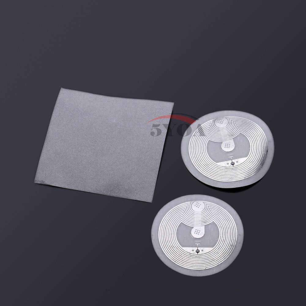 5YOA 10 قطعة/الوحدة NFC العلامة ملصق 13.56 ميجا هرتز ISO14443A NTAG 213 مفتاح العلامات llaveros llavero رمزية دورية التسمية تتفاعل العلامة شارة