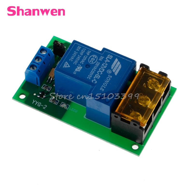 1 Channel 12V 30A Relay Board Module Optocoupler Isolation High/Low Trigger #G205M# Best Quality 1pc 12v 4 channel relay module with optocoupler isolation supports high low trigger 828 promotion