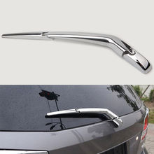 Car Rear Window Rain Wiper Arm Chrome Trim Cover Overlay For Dodge Journey 2016 2017 2018