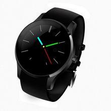 Bluetooth smart watch k88s runde ips smartwatch pulsmesser armbanduhr für ios android unterstützung sim-karte kamera