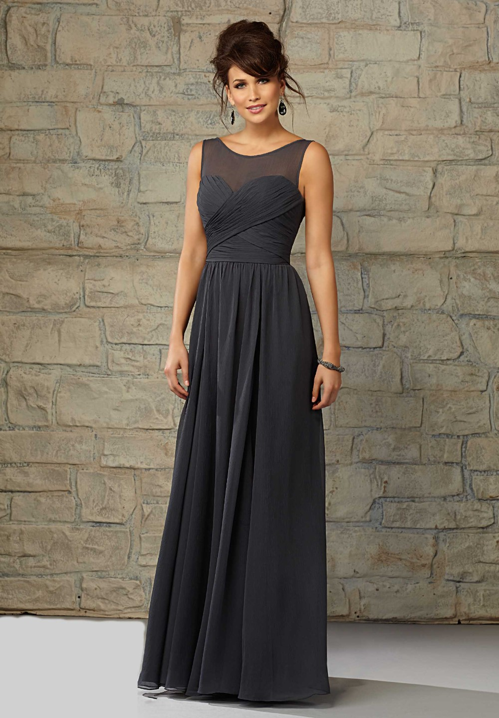 Popular Charcoal Bridesmaid Dresses-Buy Cheap Charcoal Bridesmaid ...
