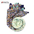 Vancol 2016 Autumn Thin Ethnic Design Linen Scarves Tassel Wrap Shawl Diamond Elegant Pattern Women Bohemia Shawl Stole Scarves