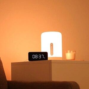 Image 2 - Прикроватная лампа Xiaomi Mijia, светодиодный умный светильник с двумя лампами, Wi Fi/Bluetooth, работает с приложением Apple HomeKit, 2018