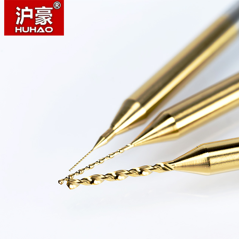 HUHAO 10PC Titanium coat Carbide PCB mini taladro Bit 0.2mm a 1.1mm - Broca - foto 2