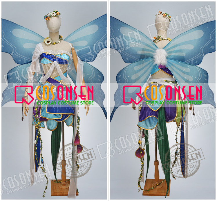 Ayase Eli Land of Fairies Ver Before Awakening Cosplay Costume Love Live