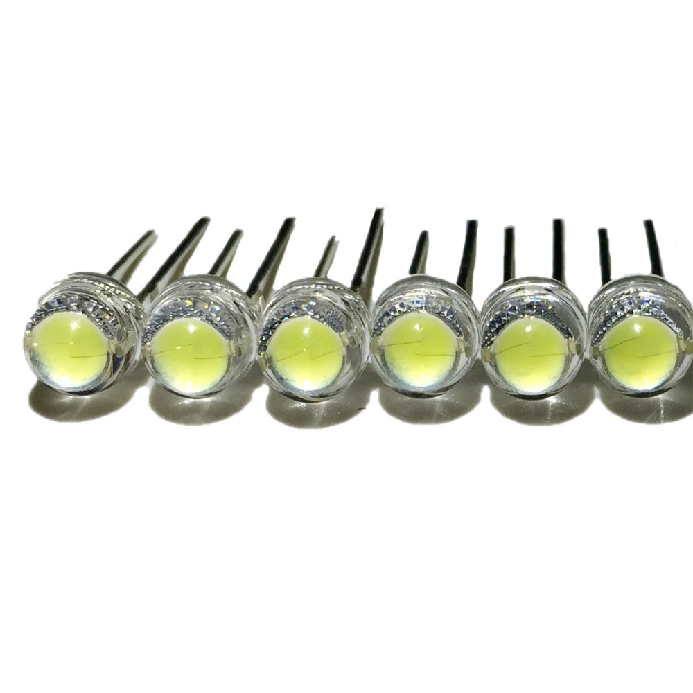 20pcs/lot white 5mm F5 straw hat LED lamp beads super bright 6-7LM big core chip Light emitting diodes (leds) for DIY lights fr107 fr207 fr307 fr607 6a10 10a10 6values 120pcs fast recovery diodes each 20pcs