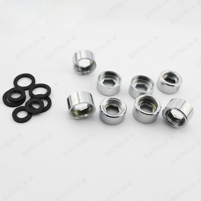 高品質真鍮蛇口エアレーターアダプタ女性ミキサーコネクタm18、m20、m22、g1/2クイックガーデンエアレーターアダプター
