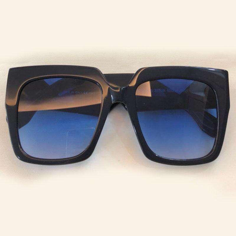 Square Sunglasses Men Brand Designer High Quality Oculos De Sol Feminino Vintage Fashion Eyewear Acetate Frame UV400 Lens