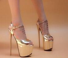 16cm tassel sexy ultra high heels thin heels platform sexy single shoes princess women's open toe shoes
